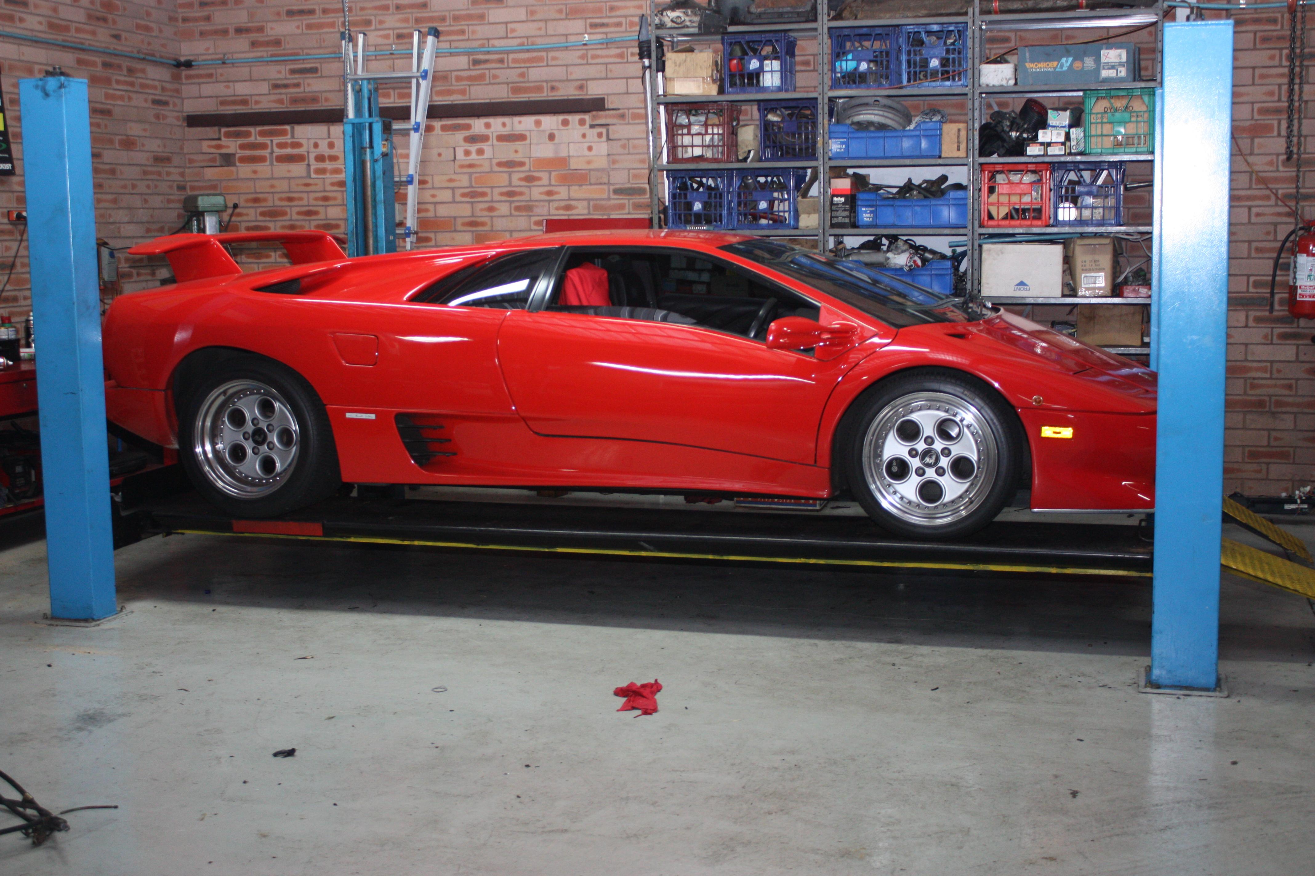 Lamborghini @ Caringbah Auto Repairs